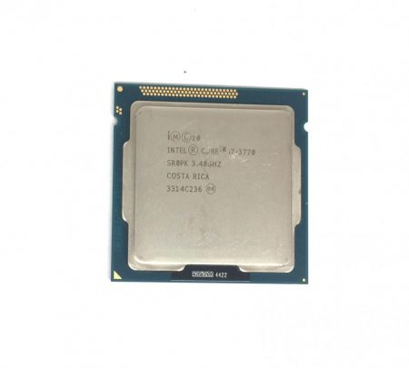 Intel Core i7-3770 3,90Ghz használt Quad Processzor CPU LGA1155 8Mb cache 3. gen. SR0PK
