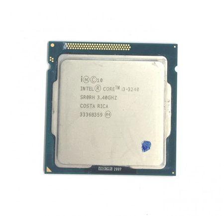 Intel Core i3-3240 3,40Ghz 2 magos Processzor CPU LGA1155 3Mb cache 3. gen. SR0RH