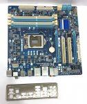Gigabyte GA-P55M-UD2 LGA1156 használt alaplap P55 PCI-e DDR3 1. gen.