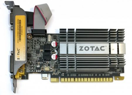 Zotac nVidia Geforce 210 1Gb GDDR3 HDMI használt videokártya