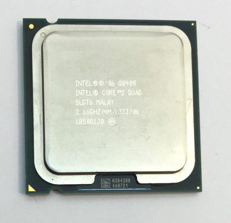 Intel Core 2 Quad Q8400 4 magos 2,66Ghz CPU Processzor LGA775 1333Mhz FSB 4Mb L2 SLGT6