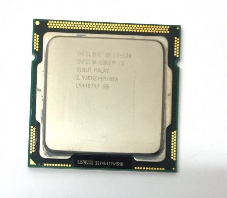 Intel Core i3-530 2,93Ghz használt processzor CPU LGA1156 4Mb cache 1. gen. SLBLR