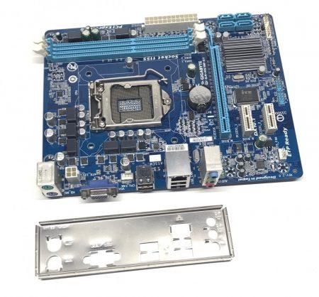 Gigabyte GA-H61M-S1 LGA1155 használt alaplap Intel H61 2. 3. gen. DDR3 iGPU