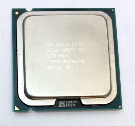 Intel Core 2 Duo E7500 2,93Ghz Processzor CPU LGA775 1066Mhz FSB 3Mb L2 SLGTE