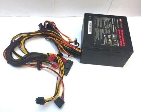 Thermaltake Munich 430W használt tápegység 80 Plus 12cm PCI-e 6+2 pin