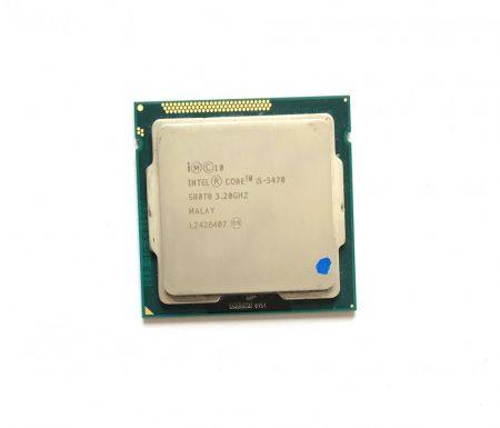 Intel Core i5-3470 3,60Ghz használt Quad processzor CPU LGA1155 6Mb cache 3. gen SR0T8