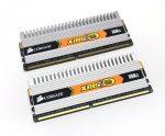 Corsair XMS2 4Gb KIT 2x2Gb DDR2 800Mhz használt PC számítógép memória Ram CM2X2048-6400C4DHX PC2-6400