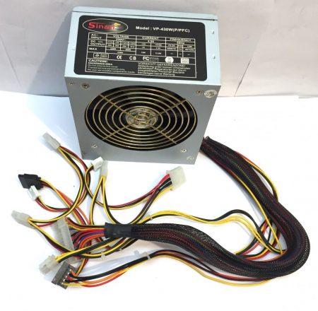 Sinan 430W használt tápegység PC TÁP 12cm