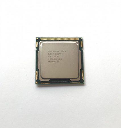 Intel Core i7-870 3,60Ghz használt Quad Processzor CPU LGA1156 8Mb cache 1. gen. SLBJG