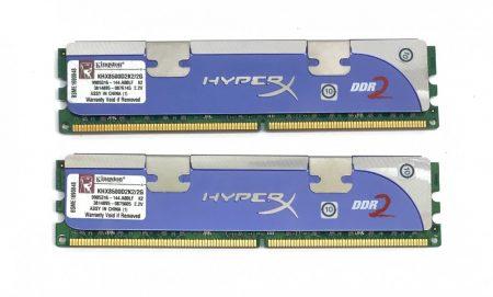 Kingston HyperX 2GB 1066Mhz CL5 KIT PC2-8500 KHX8500D2K2/2G  2x1Gb