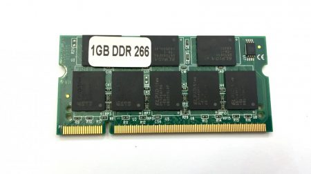 1Gb DDR 266Mhz Laptop notebook memória RAM SO-DIMM PC2100 DDR1 ÚJ