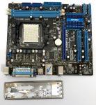 Asus M4N68T-M LE V2 AMD AM3 használt alaplap DDR3 VGA PCI-e