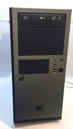 Használt számítógép 2 magos AMD Athlon II X2 245 2.90Ghz 4Gb DDR2 160Gb HDD
