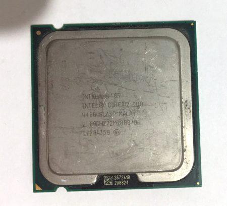 Intel Core 2 Duo E4400 2,00Ghz Processzor CPU LGA775 800Mhz FSB SLA3F