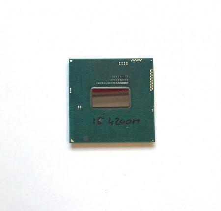 Intel Core i5-4200M használt laptop CPU processzor 3.1Ghz G3 4. gen. 3Mb cache SR1HA