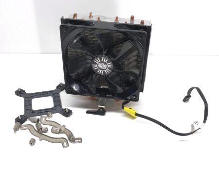 Cooler Master Hyper T4 (RR-T4-18PK-R1) processzor CPU hűtő használt LGA1155 LGA1151 LGA1150 AM4 AM3 FM2