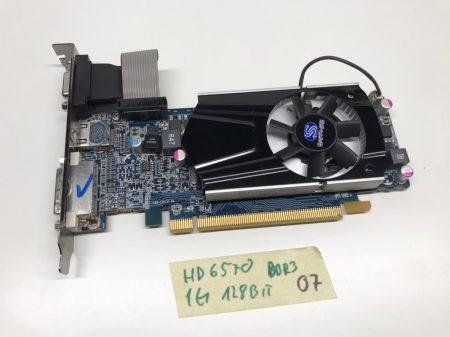 Sapphire AMD Radeon HD6570 1GB GDDR3 128bit használt videokártya VGA DVI HDMI