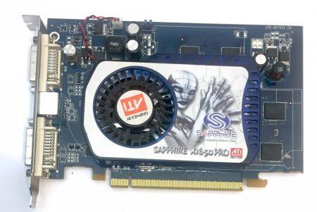 Saphhire ATI Radeon x1650 PRO 256Mb 128 BIT használt videokártya