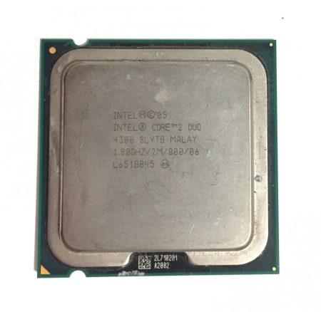 Intel Core 2 Duo E4300 1,80Ghz Processzor CPU LGA775 800Mhz FSB 2Mb L2 SL9TB