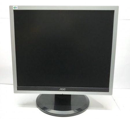 """AOC 19"""" használt LCD monitor 2ms 60000:1 PIVOT DVI 919Pz 919P2"""