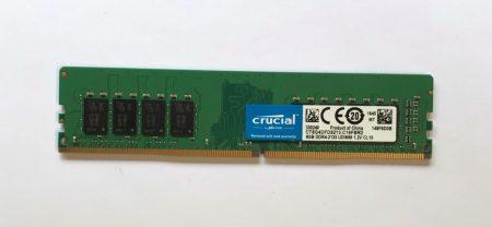 8Gb DDR4 2133Mhz használt PC memória RAM PC4-17000 1.2V asztali számítógépbe
