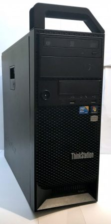 Lenovo ThinkStation S20 Worksation 4 magos számítógép erőmű Xeon W3580 3.60Ghz 12Gb DDR3 500Gb nVidia Quadro FX 1800