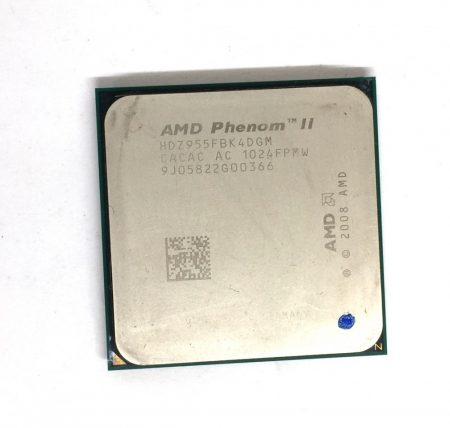AMD Phenom II X4 955 Black Edition 3,2GHz 4 magos AM3 Processzor CPU HDZ955FBK4DGM