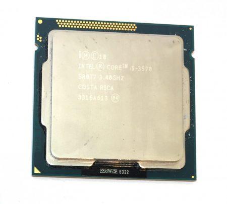 Intel Core i5-3570 3,80Ghz 4 magos Processzor CPU LGA1155 6Mb cache 1 év garancia 3. gen SR0T7