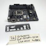 Gigabyte GA-B250M-DS3H LGA1151 használt alaplap B250 6-7. generáció