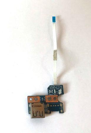Toshiba L850 USB csatlakozó panel + szalag kábel  L850-1TE