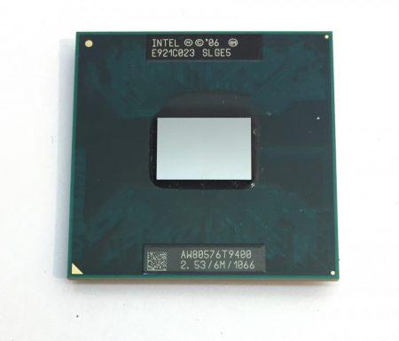 Intel Core 2 Duo T9400 laptop processzor CPU 2.53Ghz 1066Mhz FSB 6Mb L2 Socket P SLGE5