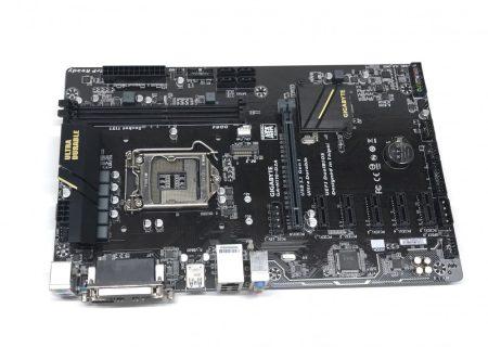Gigabyte GA-H110-D3A LGA1151 használt alaplap Intel H110 DDR4 USB 3.1 M.2 6xPCI-e