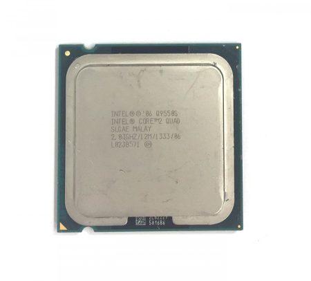Intel Core 2 quad Q9550s 4 magos 2,83Ghz Processzor CPU 65W TDP LGA775 1333Mhz FSB 12Mb L2 SLGAE