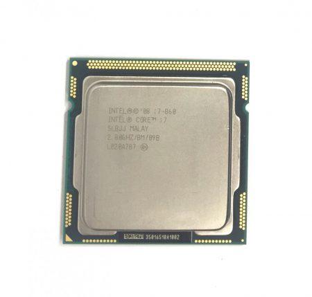 Intel Core i7-860 3,46Ghz Quad Processzor CPU LGA1156 8Mb cache 1. gen. SLBJJ