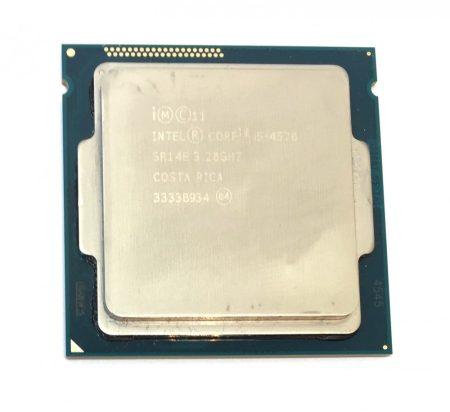 Intel Core i5-4570 Quad Core 3,60Ghz használt Quad CPU processzor LGA1150 4. gen. SR14E