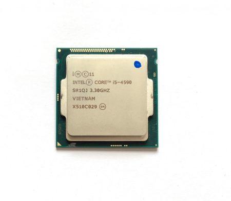 Intel Core i5-4590 3,70Ghz használt Quad processzor CPU LGA1150 6Mb cache 4. gen. SR1QJ