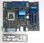 Asus P5G41T-M LX LGA775 használt alaplap DDR3 PCI-e integrált VGA