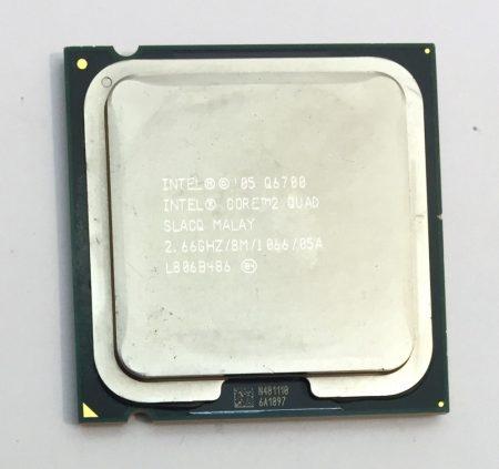 Intel Core 2 Quad Q6700 4 magos 2,66Ghz CPU Processzor LGA775 1066Mhz FSB 8Mb L2 SLACQ