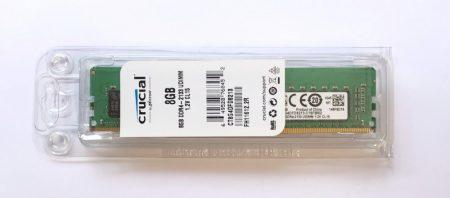 Crucial 8Gb DDR4 2133Mhz ÚJ PC memória RAM PC4-17000 1.2V asztali számítógépbe