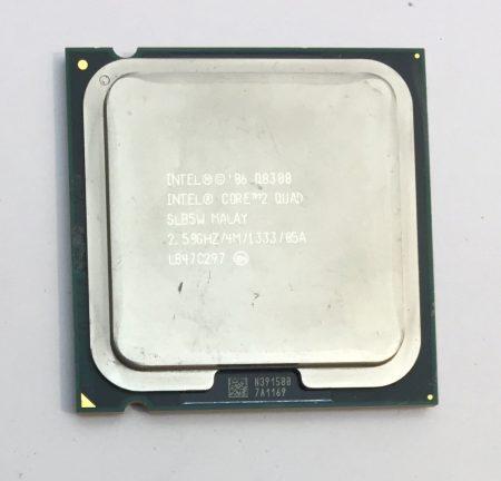 Intel Core 2 Quad Q8300 2,50Ghz CPU 4 magos Processzor LGA775 1333Mhz FSB 4Mb L2 SLB5W