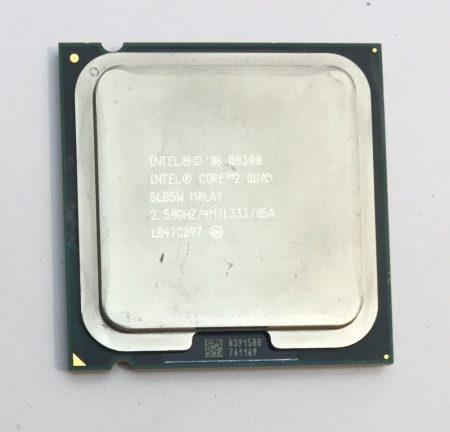 Intel Core 2 Quad Q8300 2,50Ghz használt CPU Processzor LGA775 1333Mhz FSB 4Mb L2 SLB5W