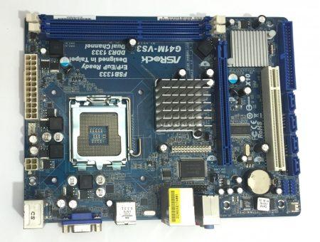 ASRock G41M-VS3 R2.0 LGA775 használt alaplap DDR3 G41