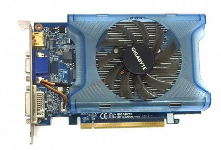 Gigabyte Geforce GT 220 1Gb 128bit HDMI PCI-e használt videokártya