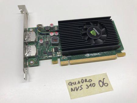 nVIDIA Quadro NVS 310 512Mb DDR3 használt videokártya DP