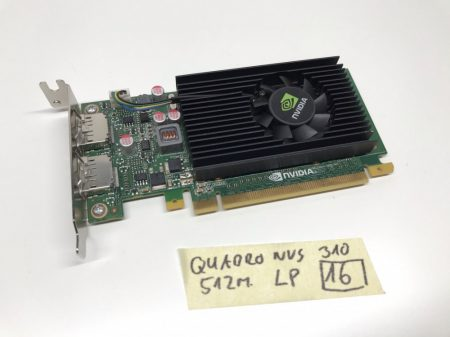 nVIDIA Quadro NVS 310 512Mb GDDR3 Low Profil LP használt videokártya