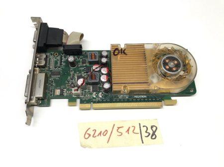 nVIDIA Geforce GT 210 512Mb DDR3 64bit használt videokártya HDMI